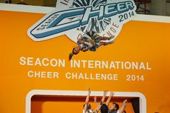 International Cheer Challenge 2014 Stock Photos