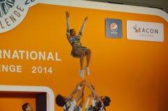International Cheer Challenge 2014 Royalty Free Stock Photo
