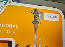 International Cheer Challenge 2014 Royalty Free Stock Photography