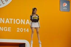 International Cheer Challenge 2014 Stock Photo