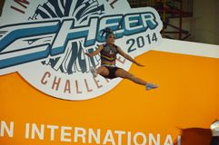 International Cheer Challenge 2014 Royalty Free Stock Image