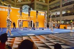International Cheer Challenge 2014. Bangkok, Thailand - October,25 2014 -International Cheer Challenge at Seacon square shopping center Royalty Free Stock Photo
