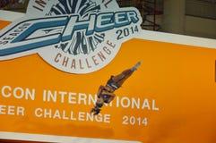 International Cheer Challenge 2014. Bangkok, Thailand - October,25 2014 -International Cheer Challenge at Seacon square shopping center Royalty Free Stock Photos