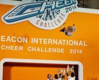 International Cheer Challenge 2014. Bangkok, Thailand - October,25 2014 -International Cheer Challenge at Seacon square shopping center Stock Photos