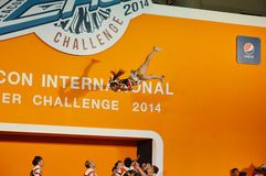 International Cheer Challenge 2014 Stock Photography