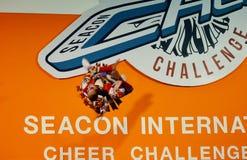 International Cheer Challenge 2014. Bangkok, Thailand - October,25 2014 -International Cheer Challenge at Seacon square shopping center Royalty Free Stock Images