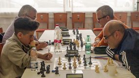 International chess tournament Stock Photography