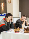 International chess tournament Stock Image