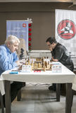 International chess tournament Royalty Free Stock Image