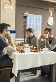 International chess tournament Royalty Free Stock Photography