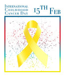 International childhood cancer day Royalty Free Stock Photo