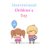 International Children s Day Stock Image