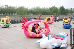 childrens amusement park Stock Images