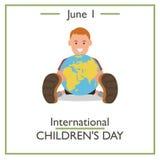International Childrens Day, June 1 Stock Photography