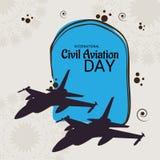 International Civil Aviation Day. Royalty Free Stock Photography