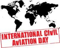 International civili aviation day Royalty Free Stock Image
