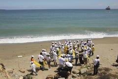 International Coastal cleanup day activity in La Guaira beach, Vargas State Venezuela Stock Photo