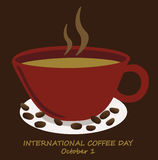 International coffee day Stock Images