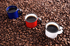 International coffee Royalty Free Stock Photography