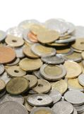 International Coins Royalty Free Stock Photography