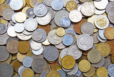 International coins Royalty Free Stock Photos