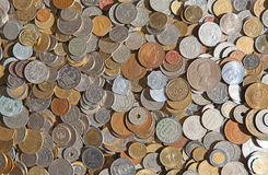 International coins Royalty Free Stock Images