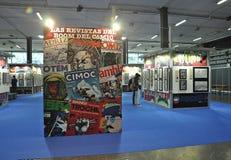 International Comic Fair of Barcelona 2018 Stock Photos