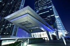 International Commerce Center Kowloon Hong Kong. The International Commerce Center ICC Building Kowloon Hong Kong Harbor at Night Stock Photo