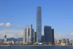 International Commerce Centre in Hong Kong Stock Photos