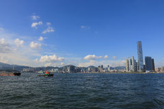 International Commerce Centre in Hong Kong Royalty Free Stock Image