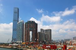International Commerce Centre. Kowloon. Hong Kong Royalty Free Stock Photography