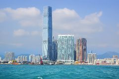 ICC Tower. Hong Kong Royalty Free Stock Image