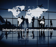 International Communication Connection Networking Website Concep Royalty Free Stock Images