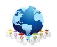 International communication Royalty Free Stock Photos