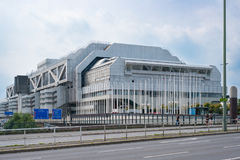 The   International Congress Center ICC  in Berlin Stock Images