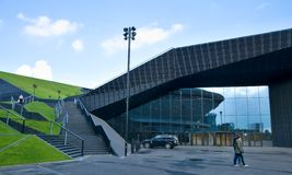 International Convention Center in Katowice Royalty Free Stock Photos