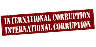International corruption Royalty Free Stock Photos