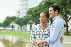 International couple Stock Images