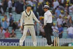 Free International Cricket England V Australia Investec Ashes 5th Tes Royalty Free Stock Photography - 55718977