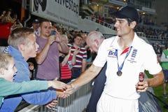 International Cricket England v Australia Investec Ashes 5th Tes Stock Photo