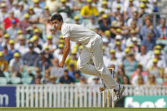 International Cricket England v Australia Investec Ashes 5th Tes Stock Image