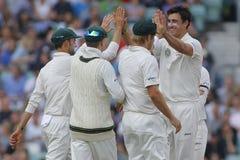 International Cricket England v Australia Investec Ashes 5th Tes Royalty Free Stock Photos