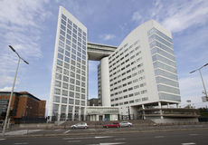 International Criminal Court in The Hague. Holland Royalty Free Stock Photos