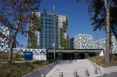 International Criminal Court in The Hague, The Netherlands Royalty Free Stock Photo