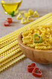 International cuisine: love for pasta Stock Photo