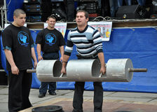 International Cup Galicia with strongman_24 Stock Image