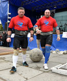 International Cup Galicia with strongman_28 Royalty Free Stock Photo