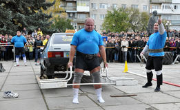 International Cup Galicia with strongman_30 Stock Photo