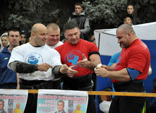 International Cup Galicia with strongman_33 Stock Image