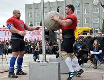 International Cup Galicia with strongman_35 Stock Photo